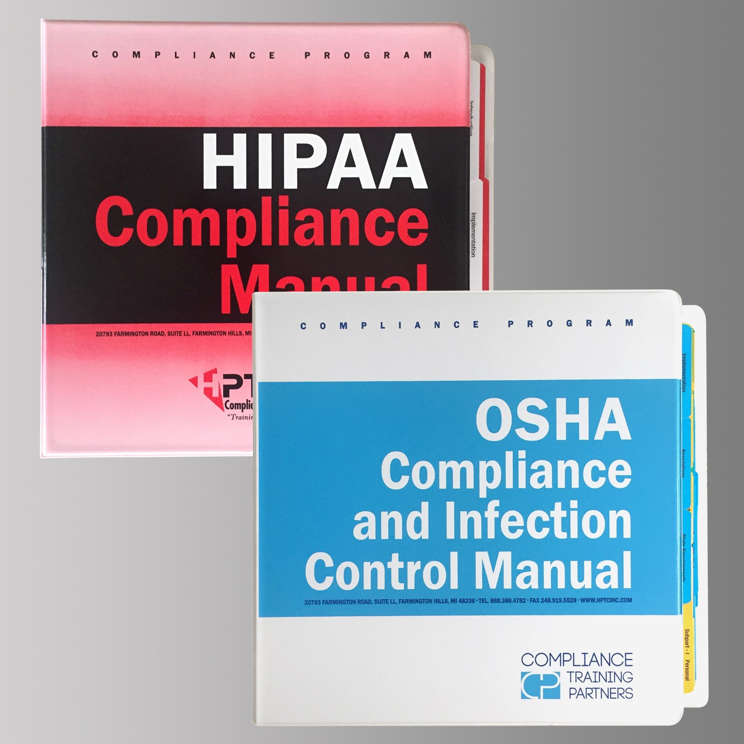 HIPAA_OSHA manual with new logo combo picture